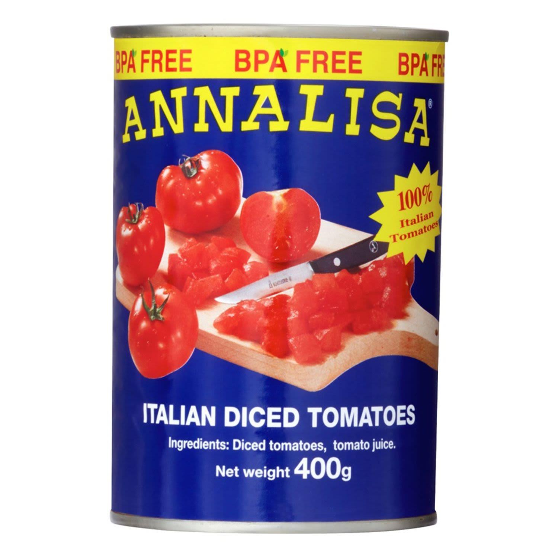 Annalisa Diced Tomatoes, 400 Gram