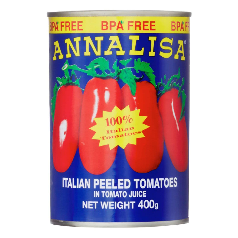 Annalisa Peeled Tomatoes, 400 Gram