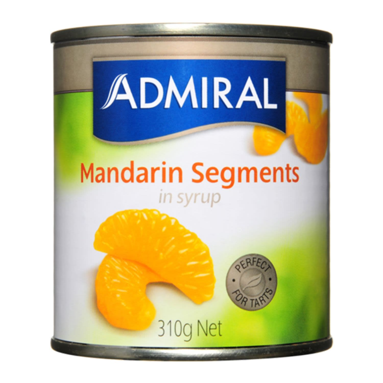 Admiral Mandarin Segments, 310 Gram