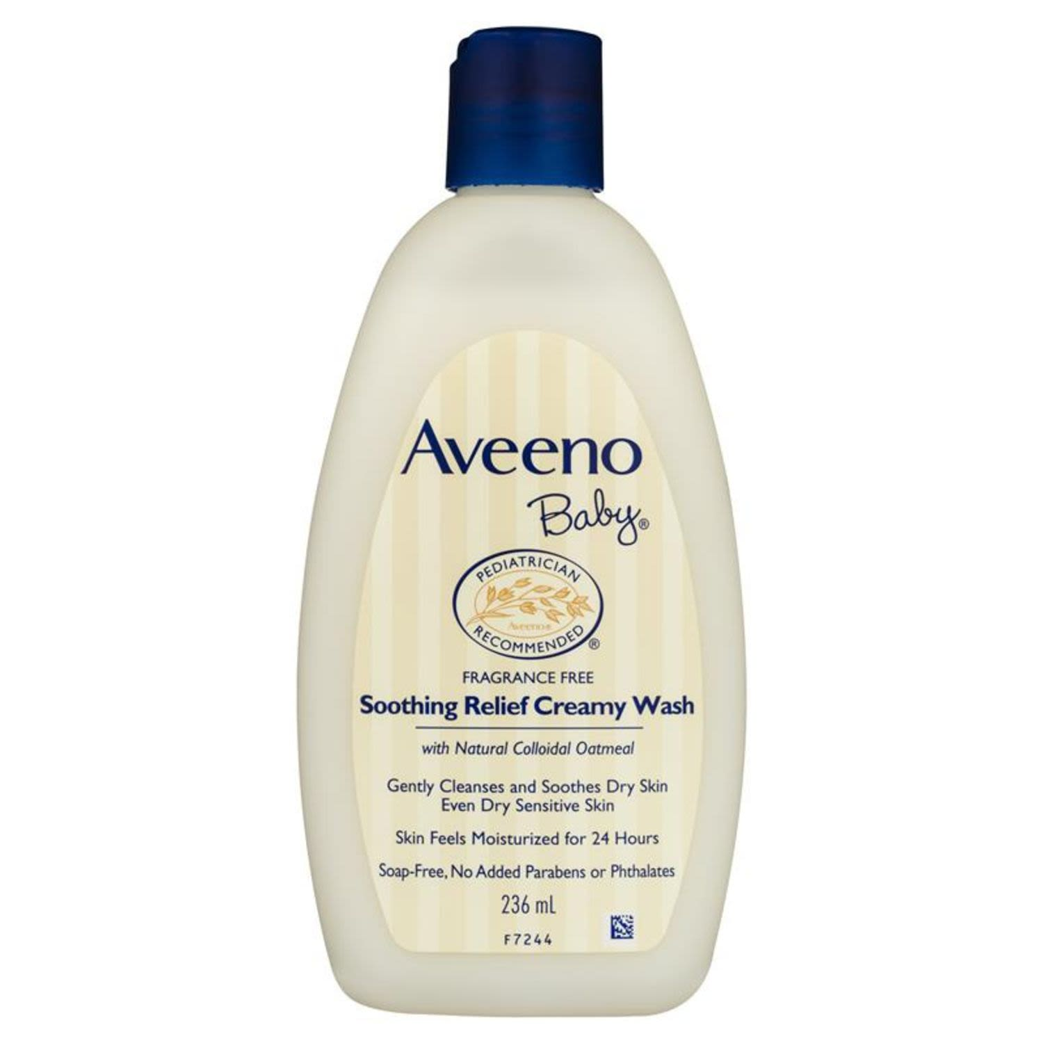 Aveeno Baby Wash Soothing Relief, 236 Millilitre