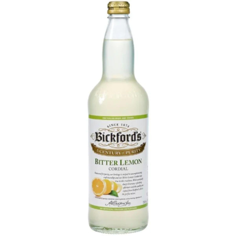 Bickford's Bitter Lemon Cordial, 750 Millilitre