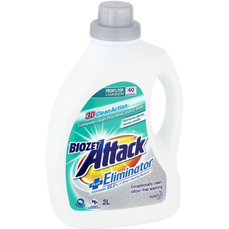 Biozet Attack Laundry Liquid Eliminator, 2 Litre