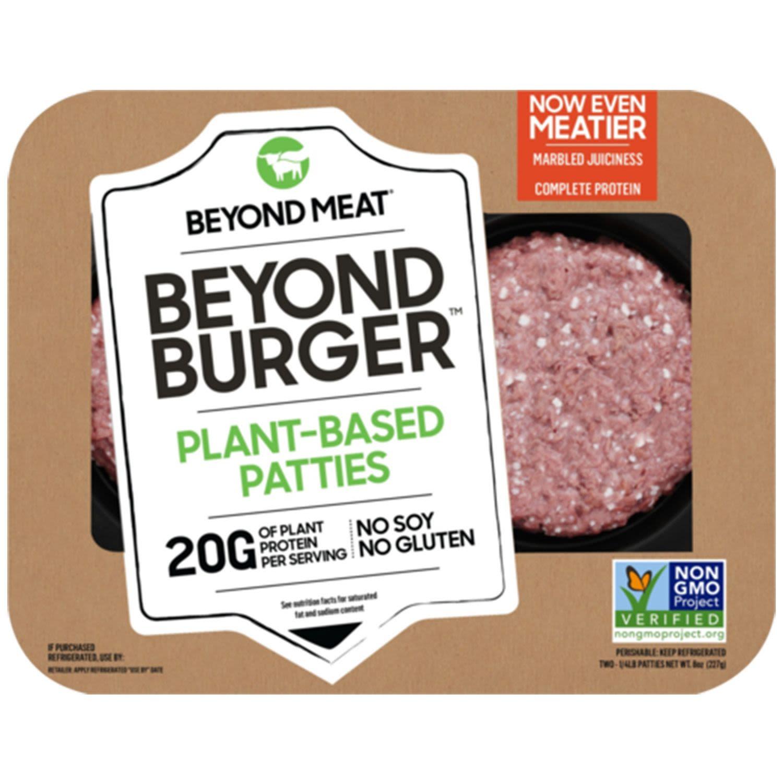 Beyond Meat Plant Based Burger Patties, 2 Each