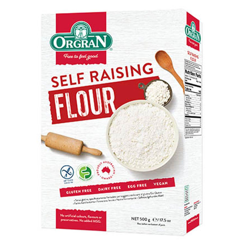 Orgran Gluten Free Self Raising Flour, 500 Gram