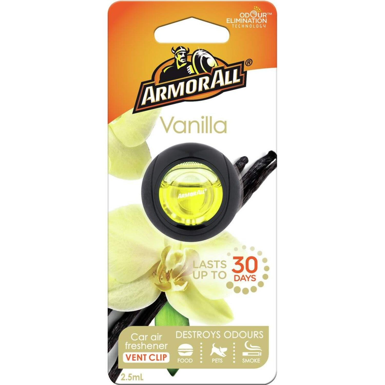 Armor All Air Freshener Vanilla, 2.5 Millilitre