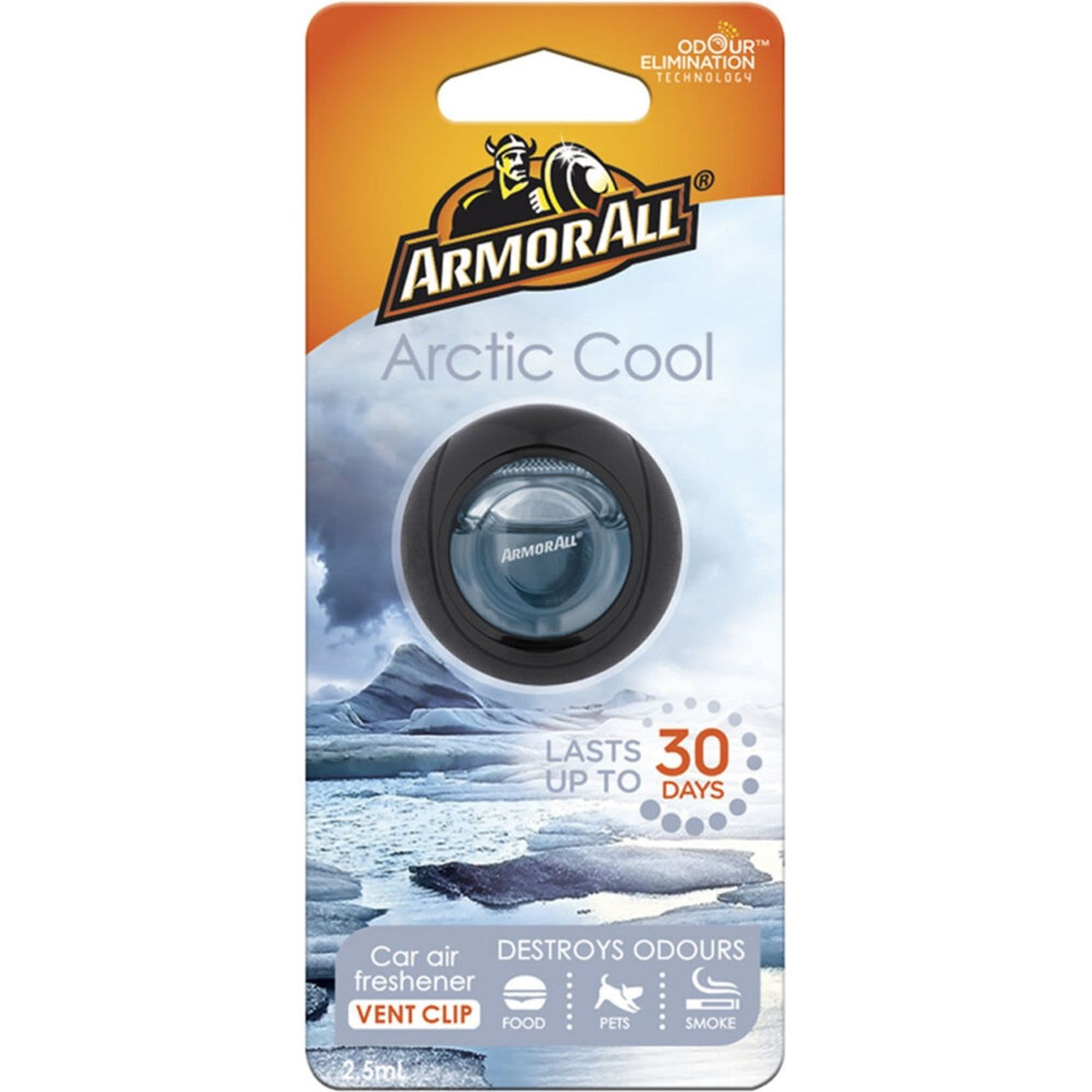 Armor All Air Freshener Arctic Cool, 2.5 Millilitre