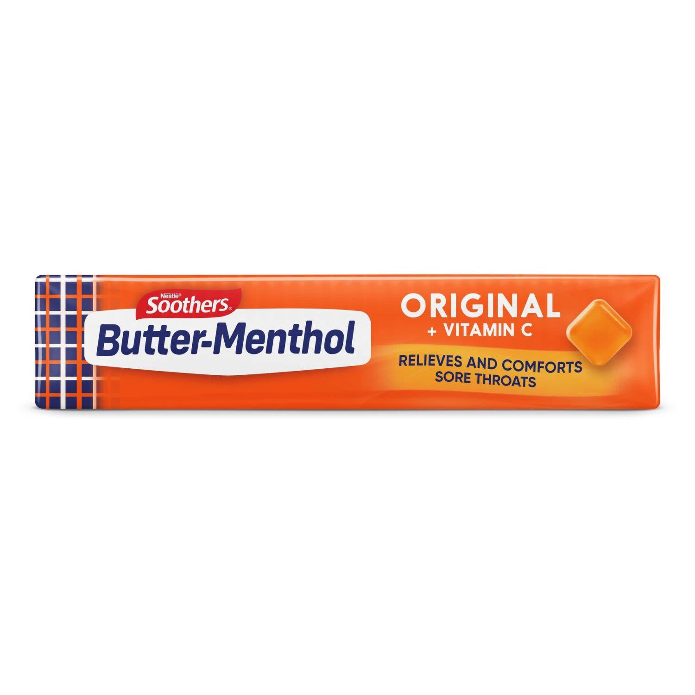 Allen's Butter-Menthol Throat Lozenges, 40 Gram