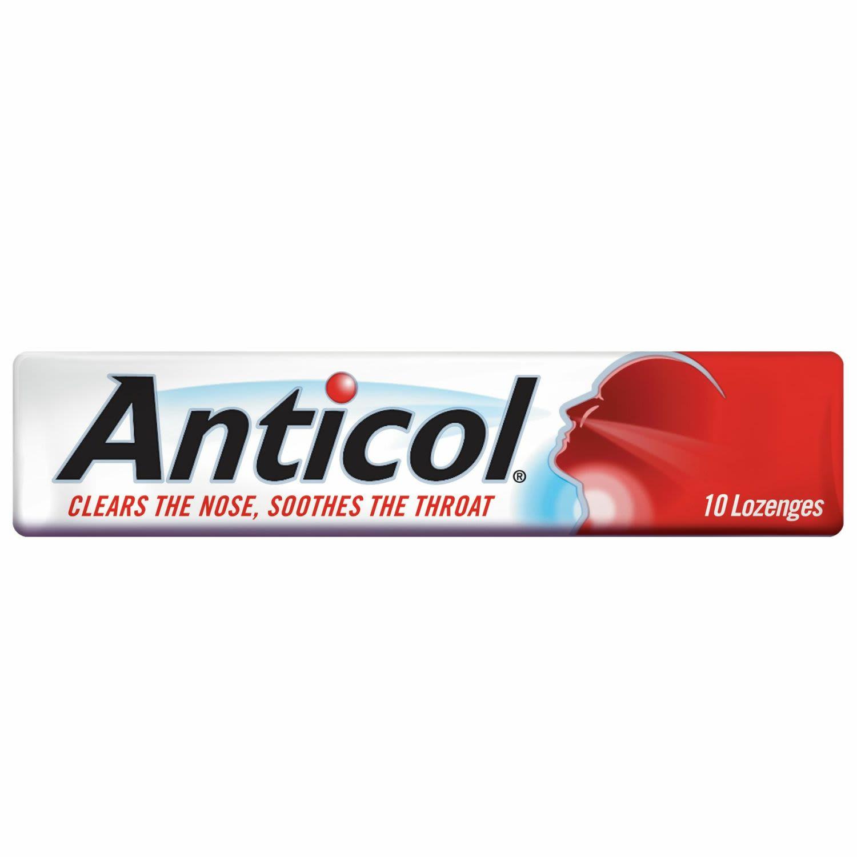 Allen's Anticol Throat Lozenge Vapour Action, 10 Each