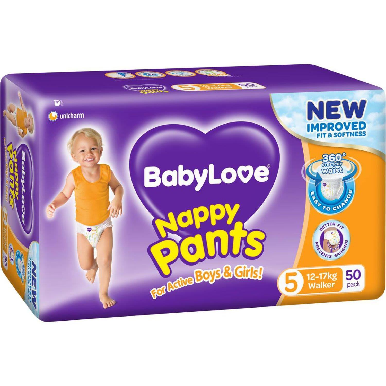 BabyLove Nappy Pants Jumbo Walker, 50 Each