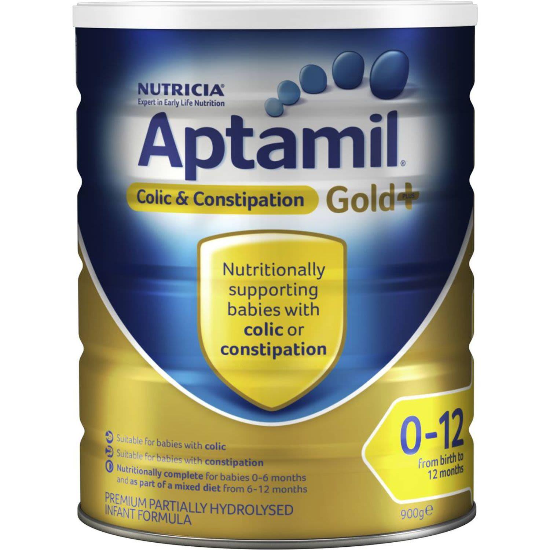 Aptamil Colic & Constipation Infant Formula, 900 Gram