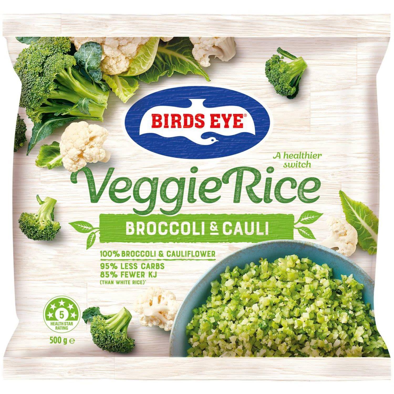Birds Eye Broccoli And Cauliflower Rice, 500 Gram