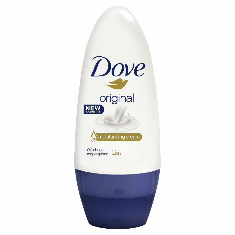 Dove Women Deodorant Original Clean Alcohol Free, 50 Millilitre