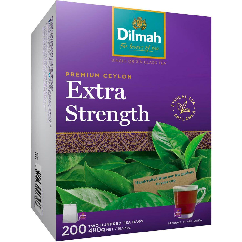 Dilmah Extra Strength Tea Bags, 200 Each