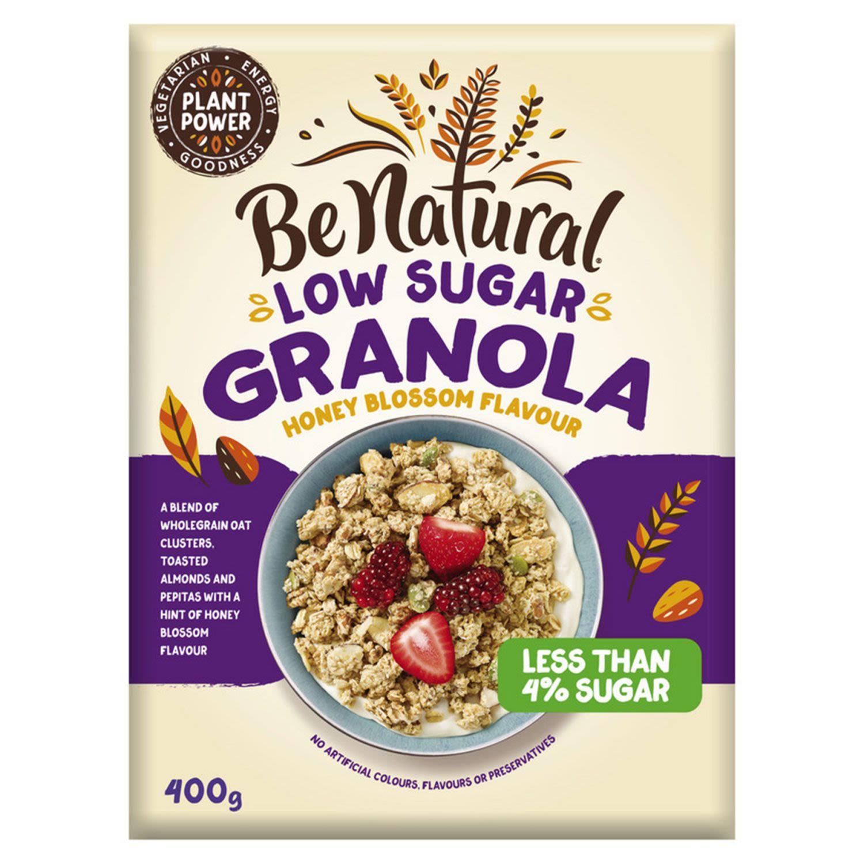 Be Natural Granola Honey Blossom Low Sugar, 400 Gram