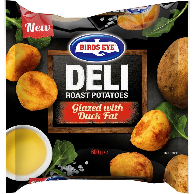 Birds Eye Deli Roast Duck Fat Potatoes Fat, 600 Gram