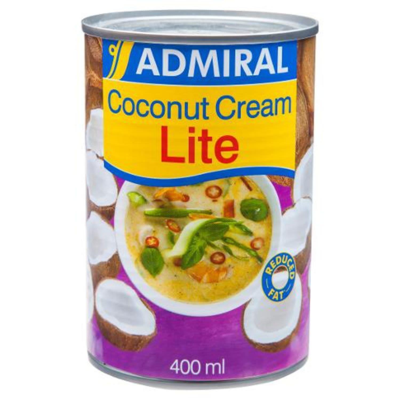 Admiral Lite Coconut Cream, 400 Millilitre