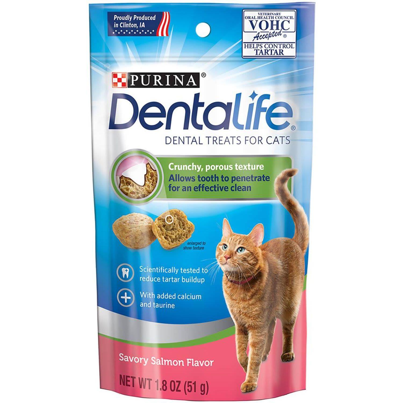 DENTALIFE® Adult Salmon Cat Dental Treats, 51 Gram