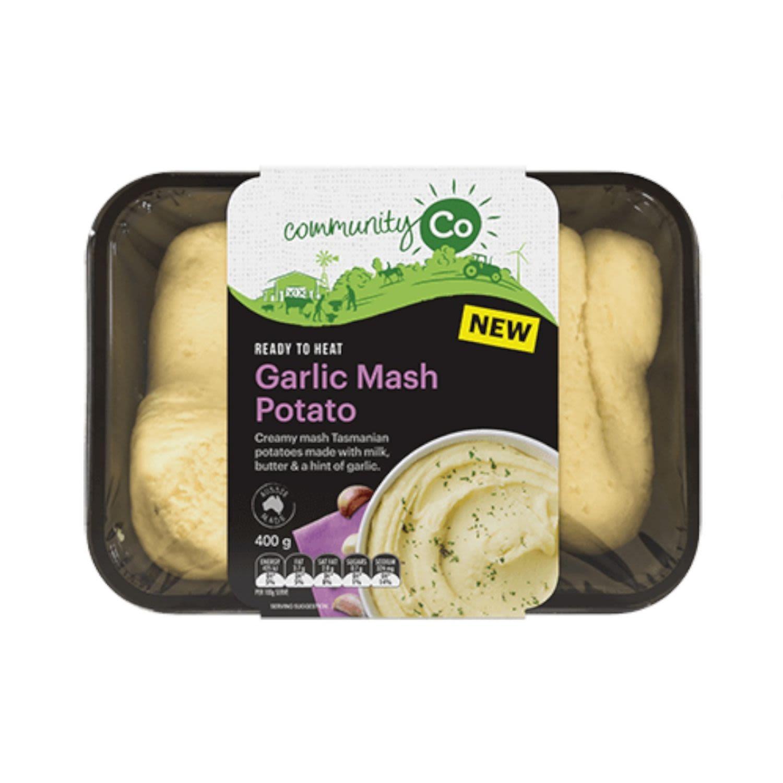 Community Co Garlic Mashed Potato, 400 Gram