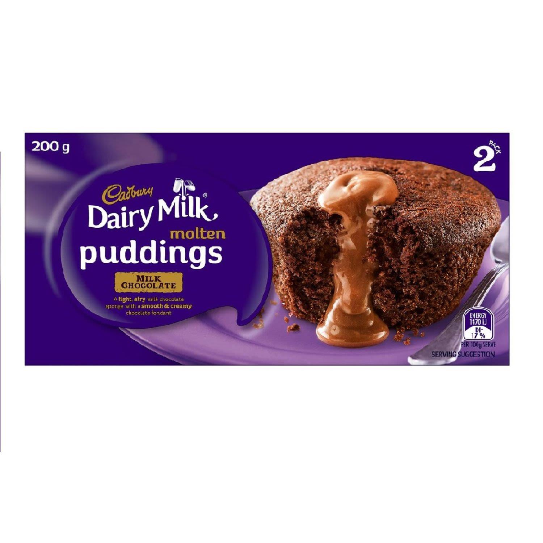 Cadbury Mini Chocolate Pudding, 2 Each