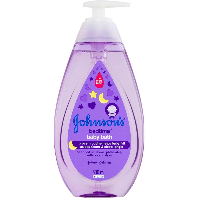Johnson's Baby Wash Bedtime Bath, 500 Millilitre