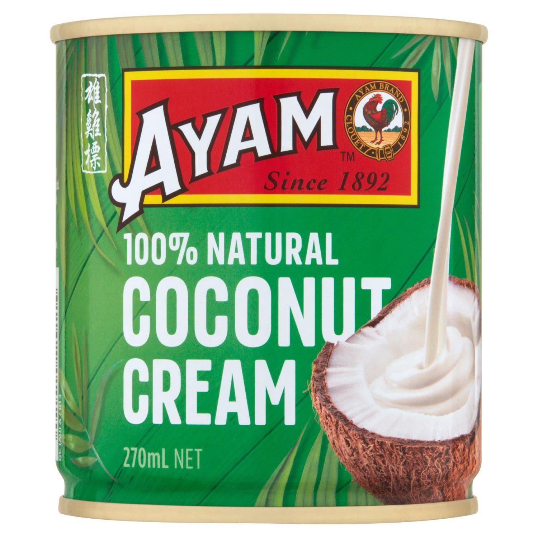 Ayam Coconut Cream, 270 Millilitre