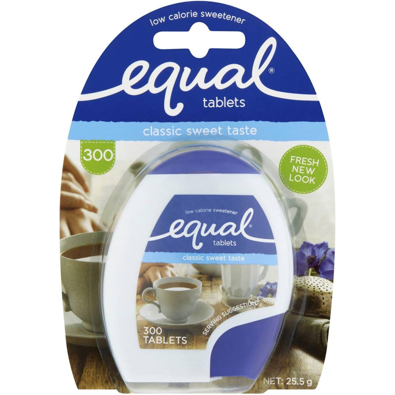 Equal Sweetener Tablets, 300 Each