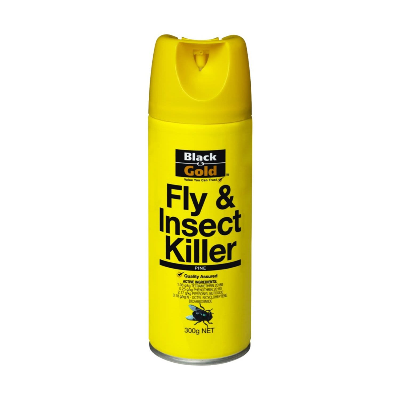 Black & Gold Fly Spray Pine, 300 Gram