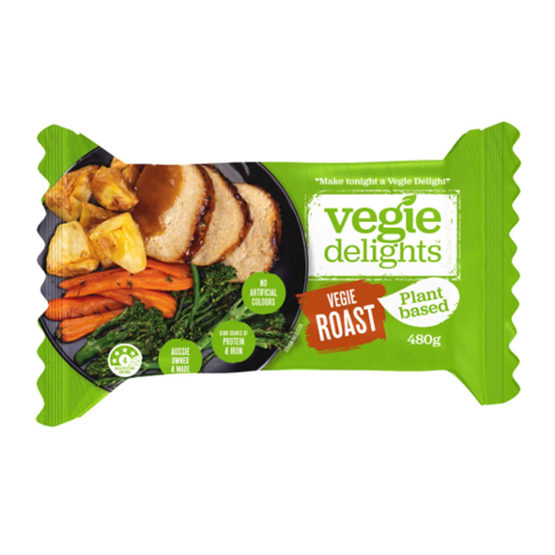 Vegie Delights Vegie Roasts, 480 Gram