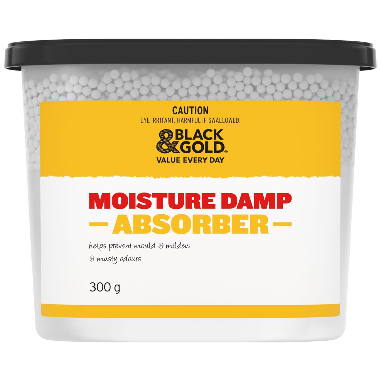 Black & Gold Moisture Damp Absorber, 1 Each