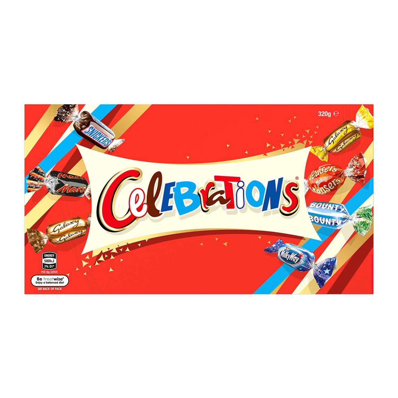 Mars Chocolate Gift Celebrations Box, 320 Gram