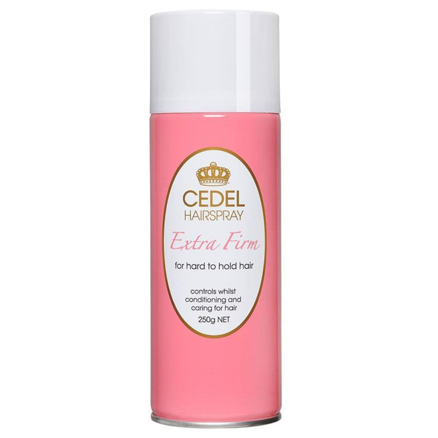 Cedel Hair Spray Extra Firm For Hard To Hold Hair, 250 Gram