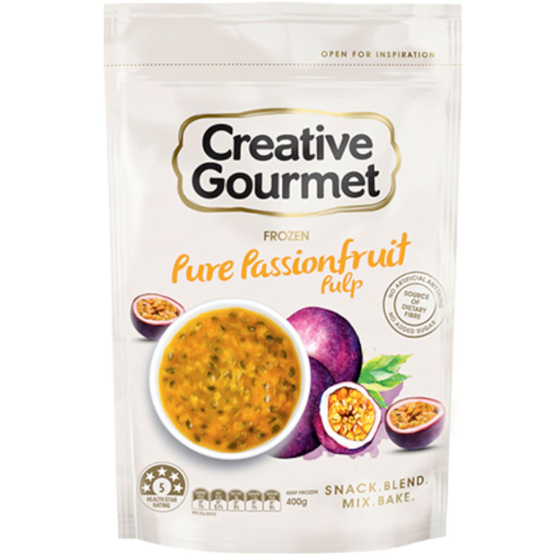Creative Gourmet Passionfruit Cubes, 400 Gram