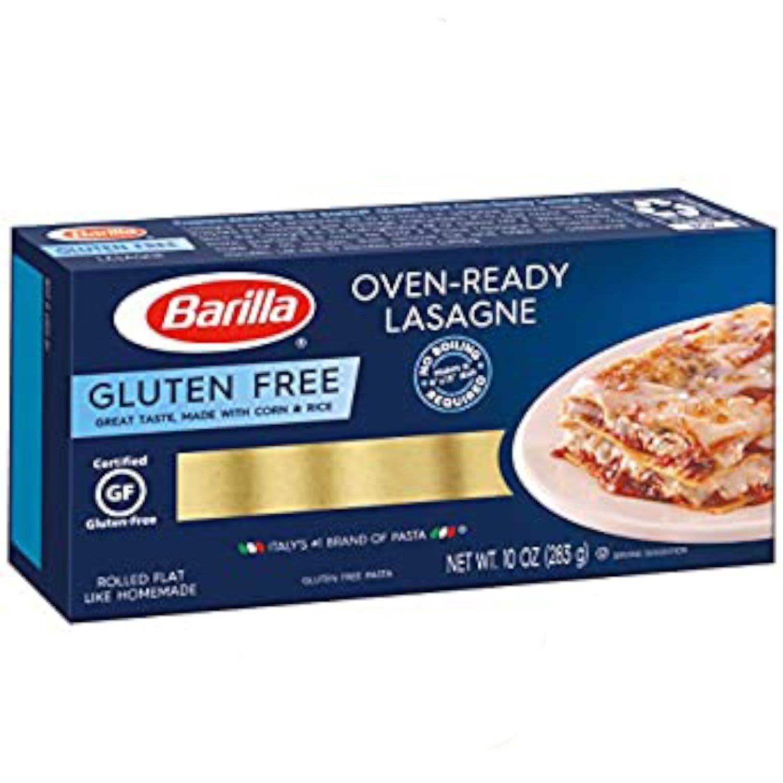 Barilla Lasagne Sheets Gluten Free, 283 Gram