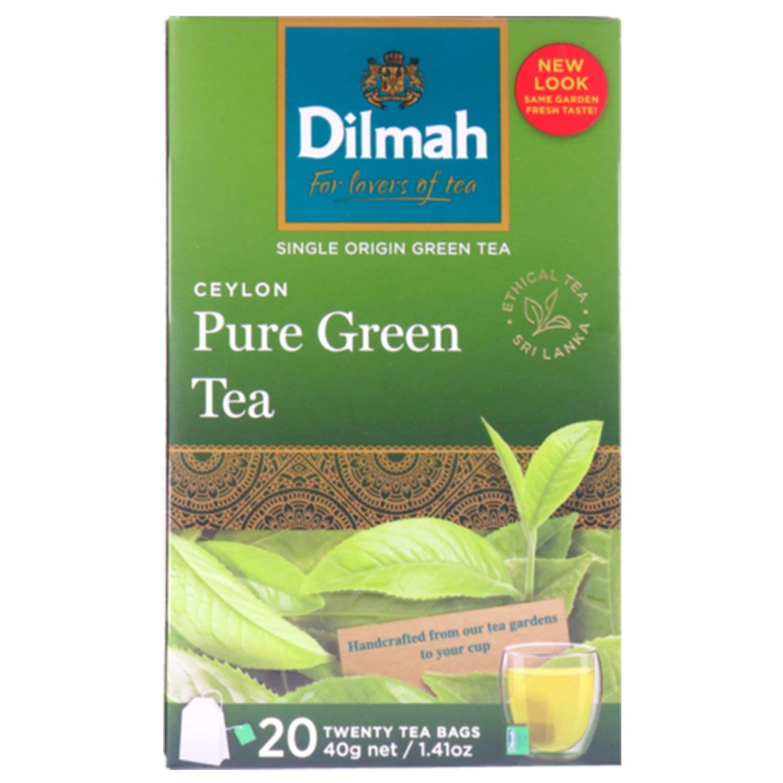 Dilmah Green Tea Bags, 20 Each