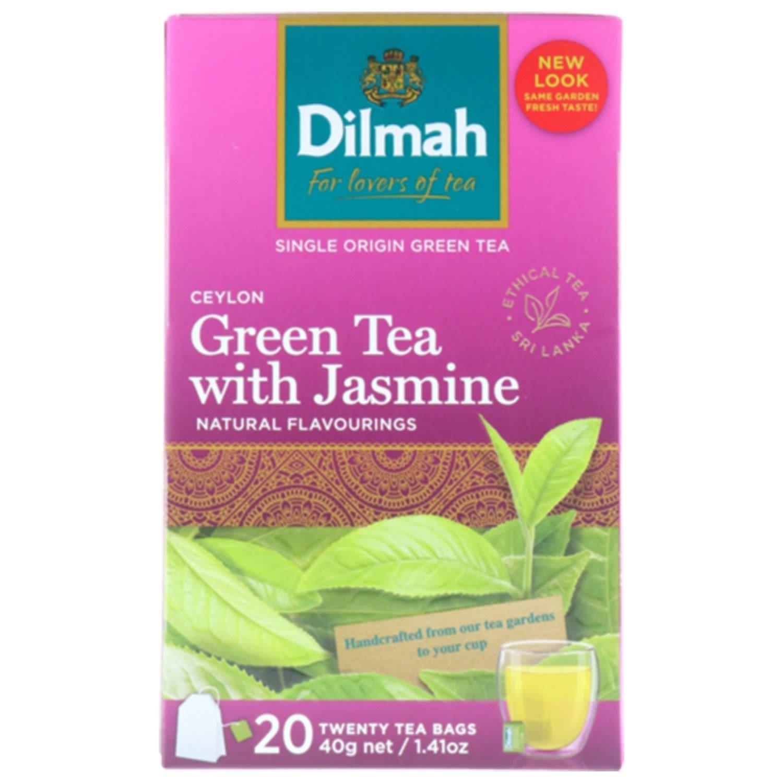 Dilmah Green Tea Jasmine, 20 Each