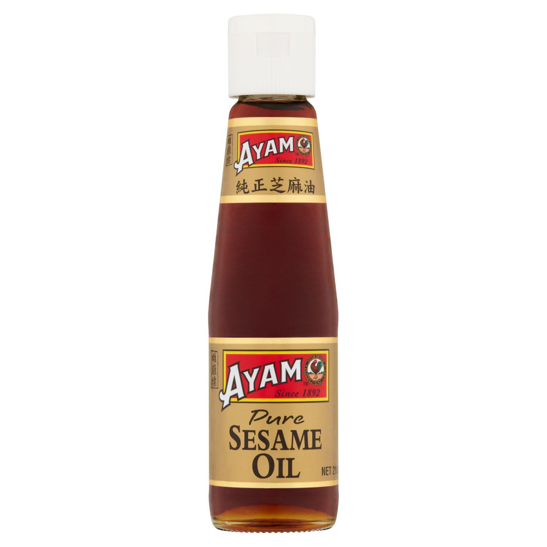 Ayam Pure Sesame Oil, 210 Millilitre