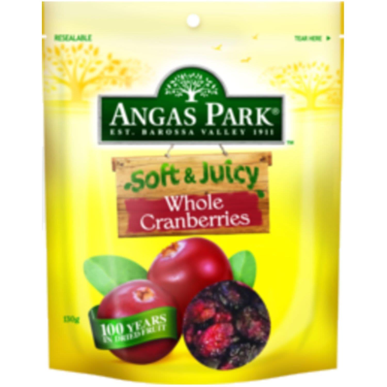 Angas Park Cranberry Soft & Juicy, 140 Gram