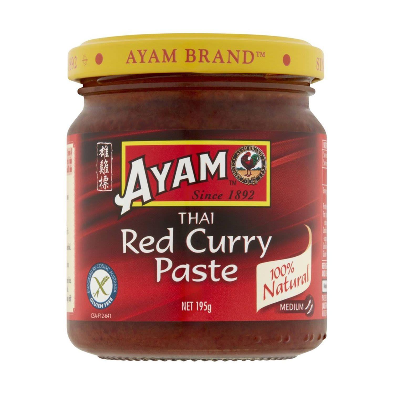 Ayam Paste Thai Red Curry, 195 Gram