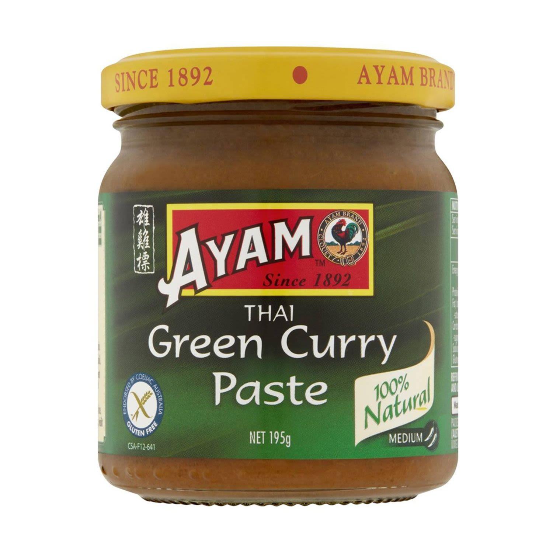 Ayam Paste Thai Green Curry, 195 Gram