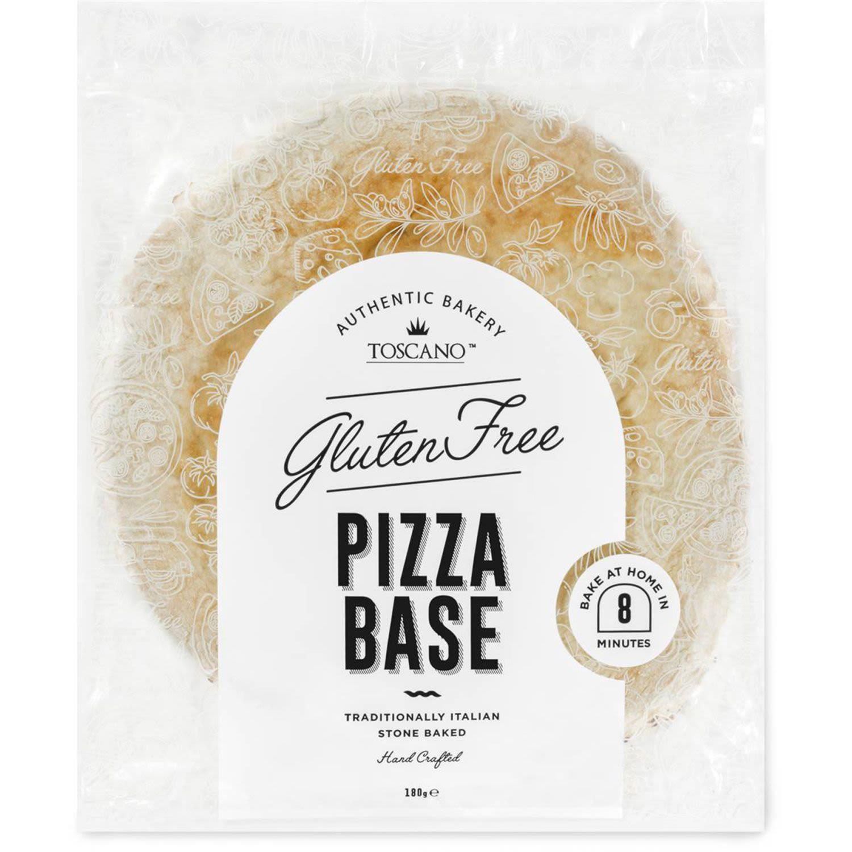 Toscano Gluten Free Pizza Base, 180 Gram