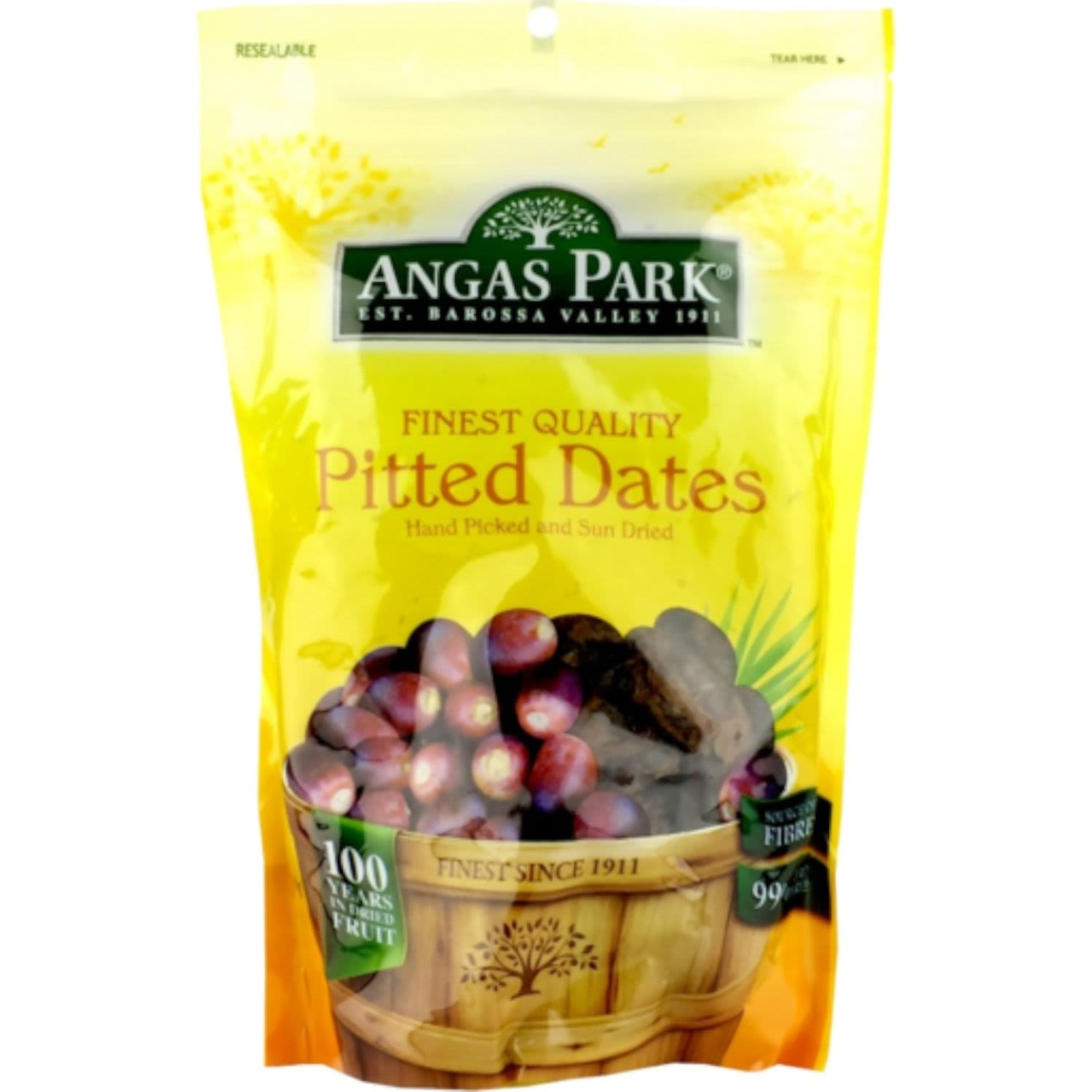 Angas Park Pitted Dates, 500 Gram