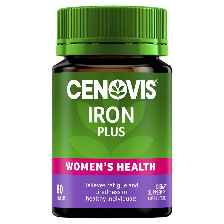 Cenovis Iron Plus Tablets, 80 Each