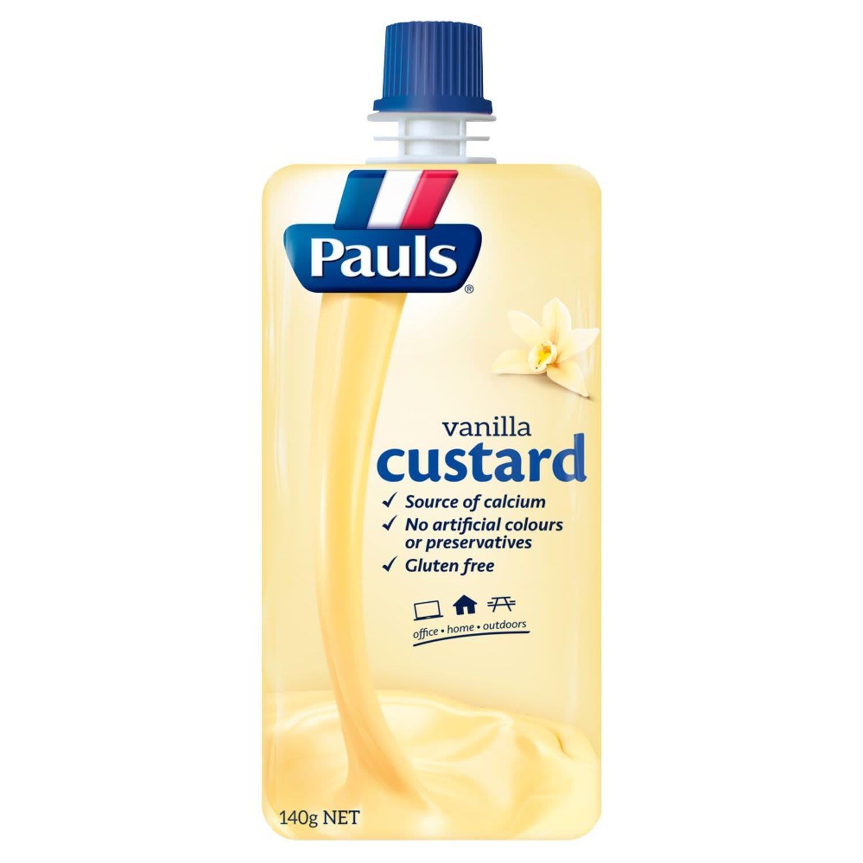 Pauls Custard Vanilla, 140 Gram