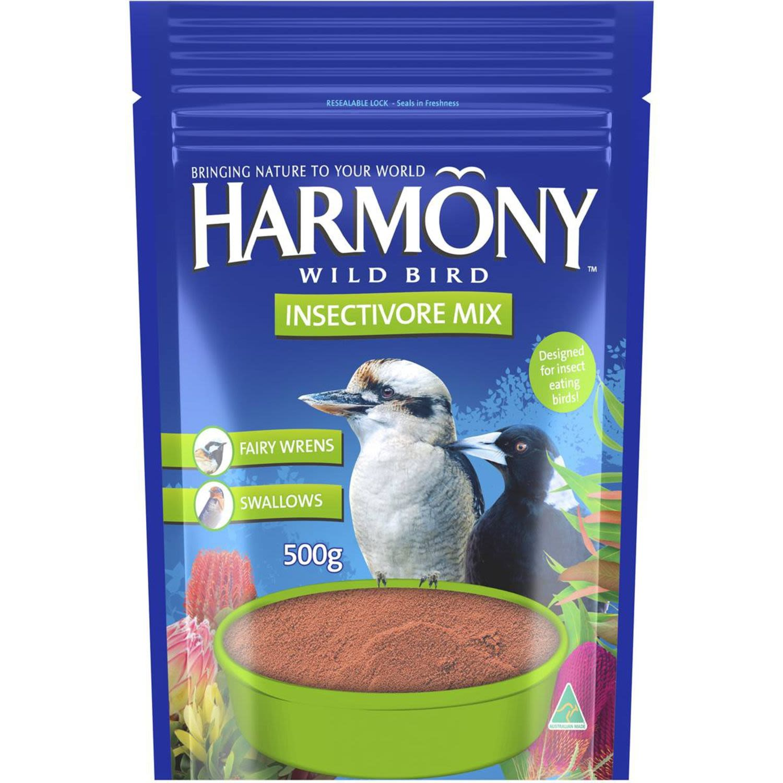 Harmony Bird Dry Bird Food Pouch, 500 Gram