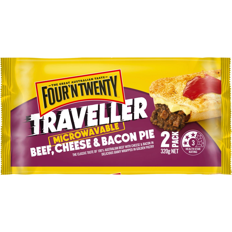 Four 'N Twenty Traveller Beef, 2 Each