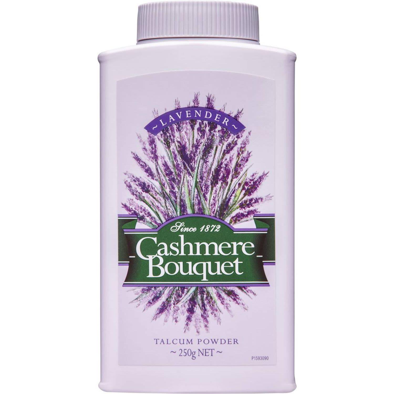 Cashmere Bouquet Talcum Powder With A Fresh Scent Of Lavender, 250 Gram