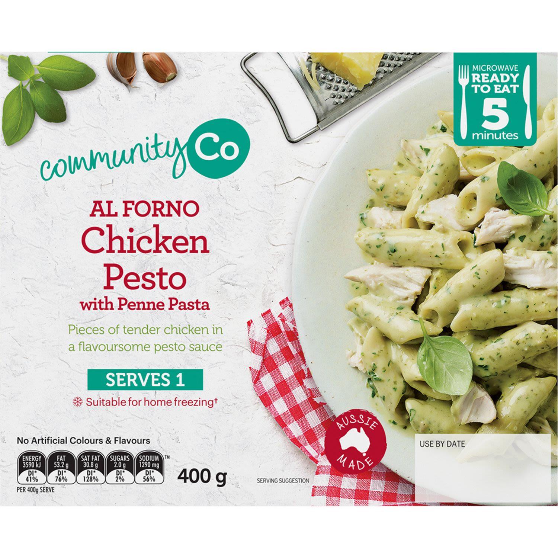 Community Co Al Forno Pesto Chicken, 400 Gram