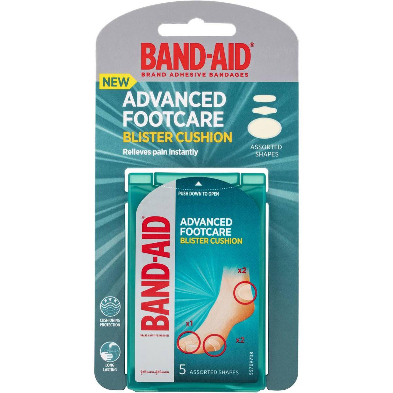 Band-aid Blister Cushion Assorted, 5 Each