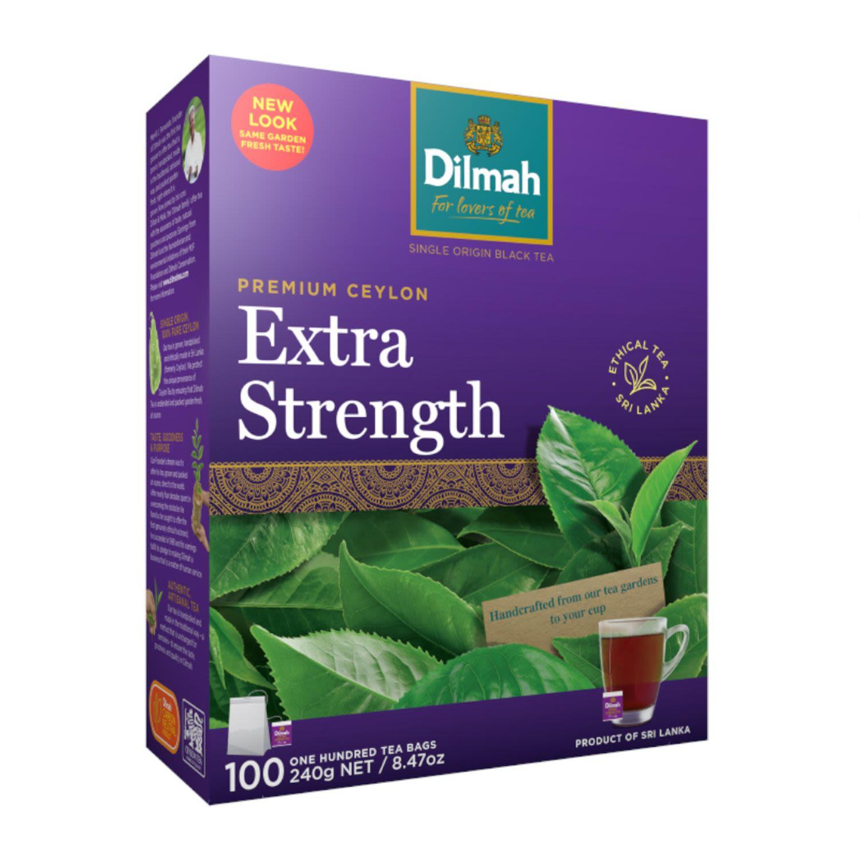 Dilmah Extra Strength Tea, 100 Each
