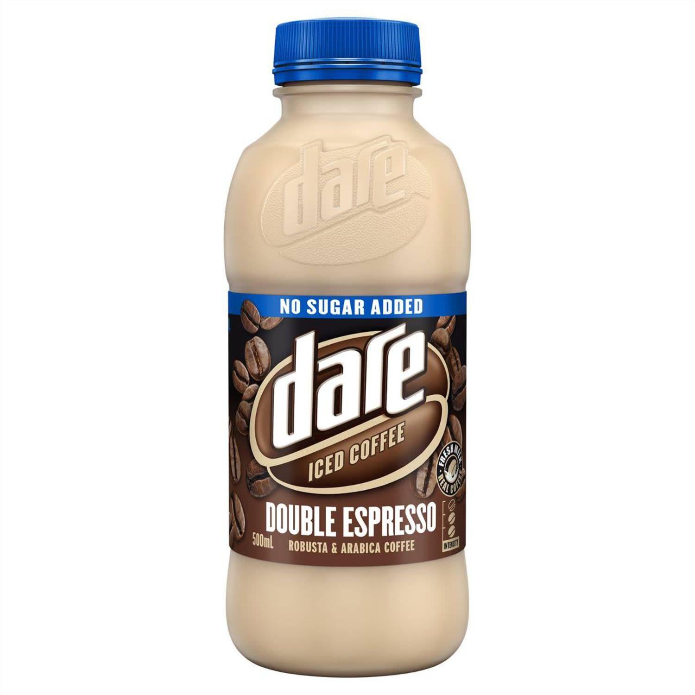 Dare Double Espresso No Added Sugar, 500 Millilitre